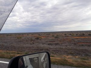 Rob drives to see Peter. Hard to believe you can farm here!