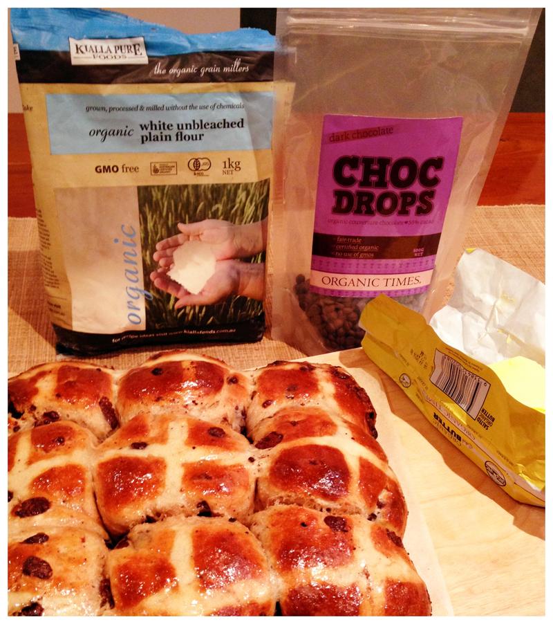 Deborah's Organic Hot Cross Buns