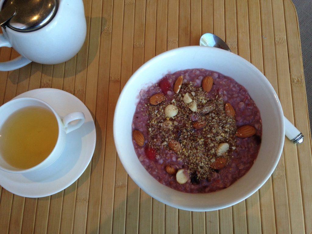 Purple porridge