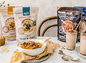 Oats & Breakfast オーツ類の朝食