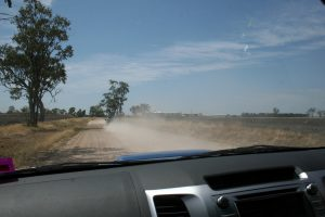On the road to Graham's farm
