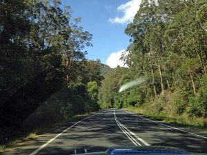 On the way to Steve, through Cunningham's Gap to the Lockyer Valley