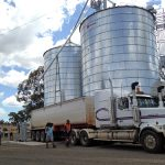 Talbot's grain arrives at the mill