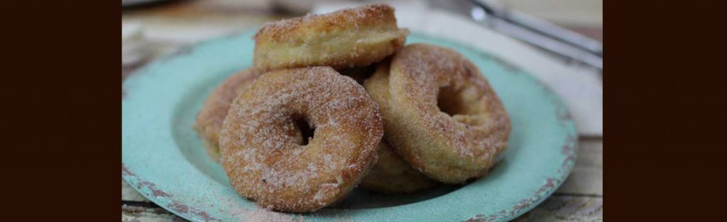 Donuts or Breadnuts made with Kialla Pancake mix