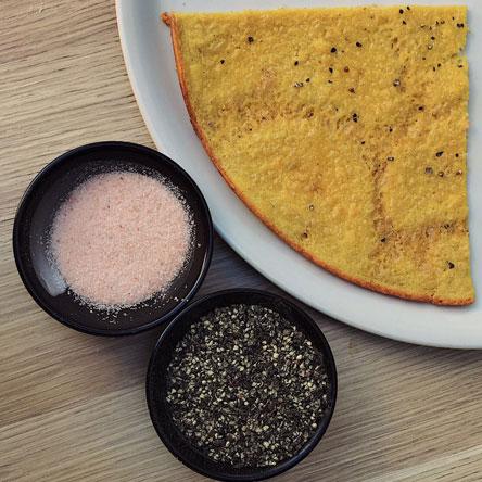 Farinata pancake is deliciously simple